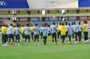 Black Stars snubbed for CAF National Team of the Year award