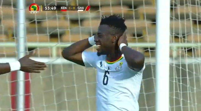Afriyie Acquah: We didn't utilize our chances against Kenya