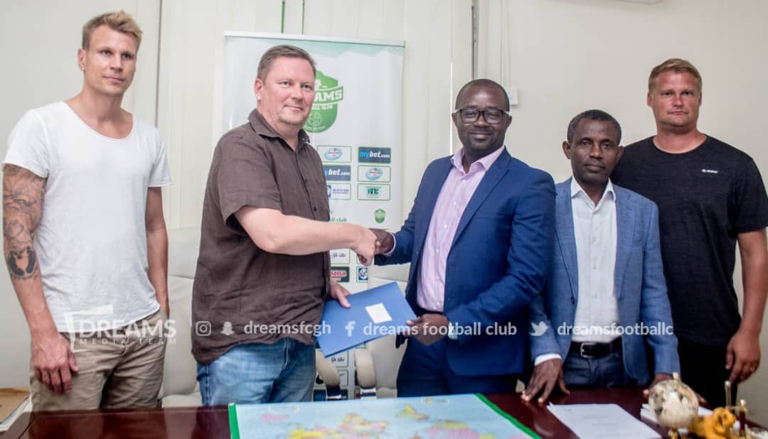 OFFICIAL: Dreams FC announce 3 year partnership with Finish side Rops