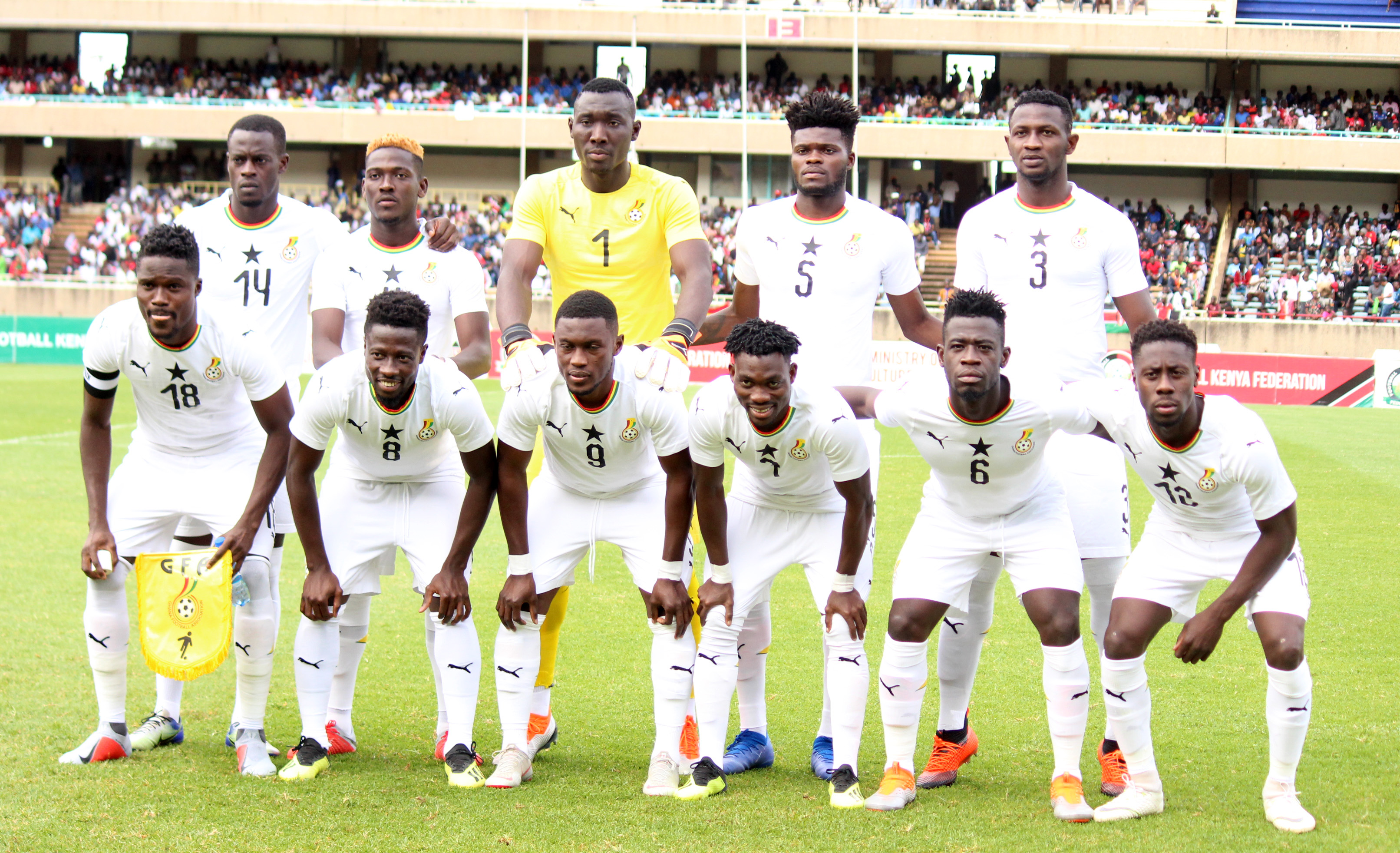 Ghanaian players who played in Kenya expected in training with their European clubs today