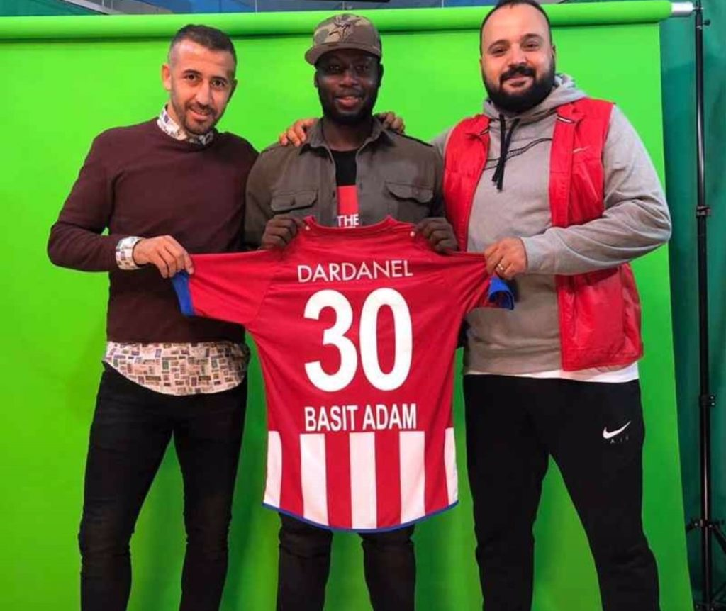 EXCLUSIVE: Ghanaian striker Abdul Basit Adam joins Dardanel SAŞ in Turkey