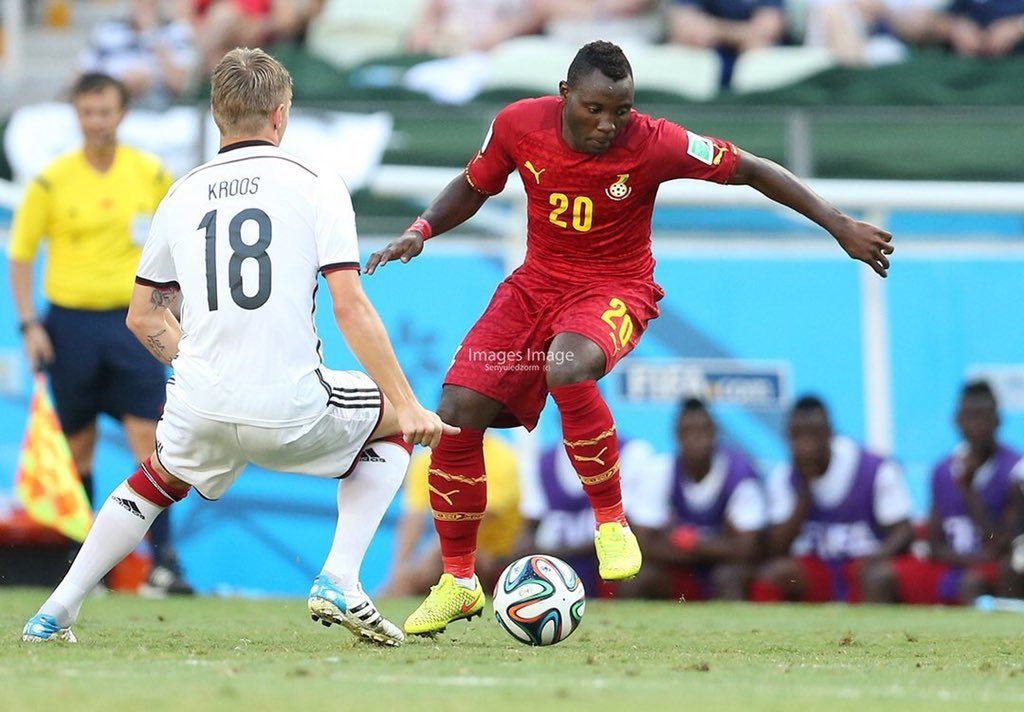 Kwadwo Asamoah redraws from Ghana squad to face Mauritania