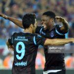Caleb Ekuban scores on his debut as Trabzonspor beat Galatasaray 4-0
