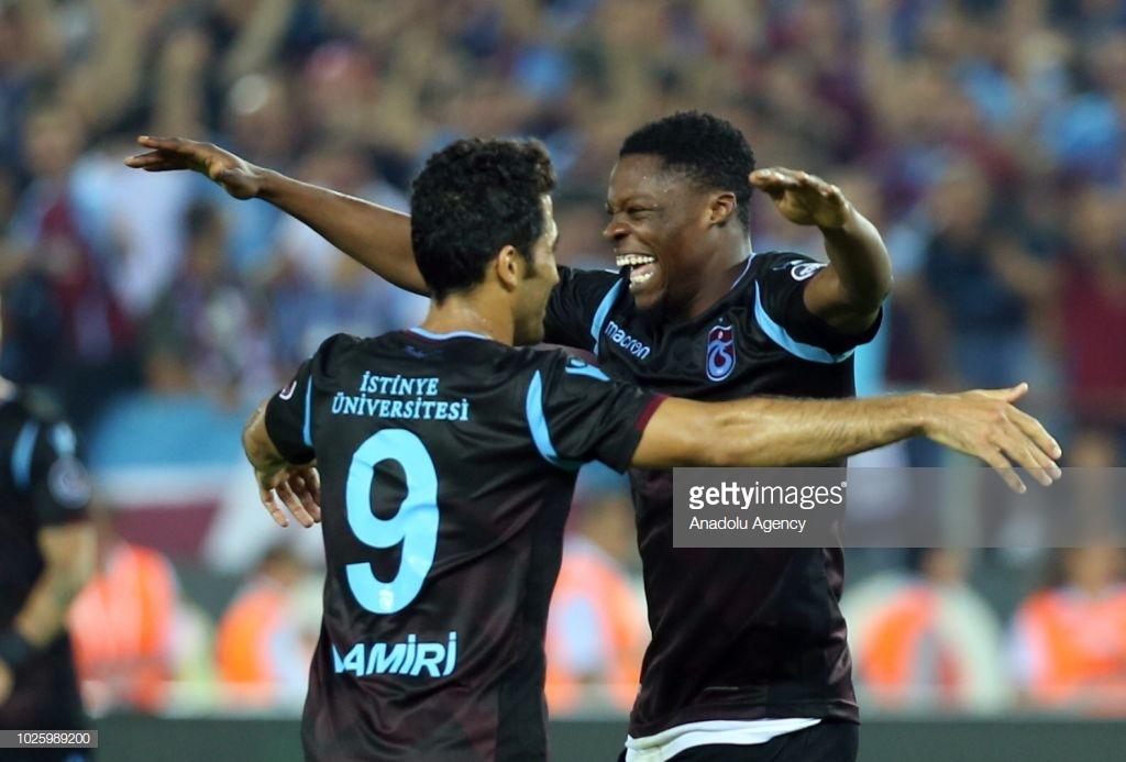 Ekuban's Trabzonspor progress as Benjamin Tetteh's Sparta Prague gets eliminated from Europa