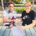Ghanaian player Majeed Ashimeru signs two-year deal with Nike