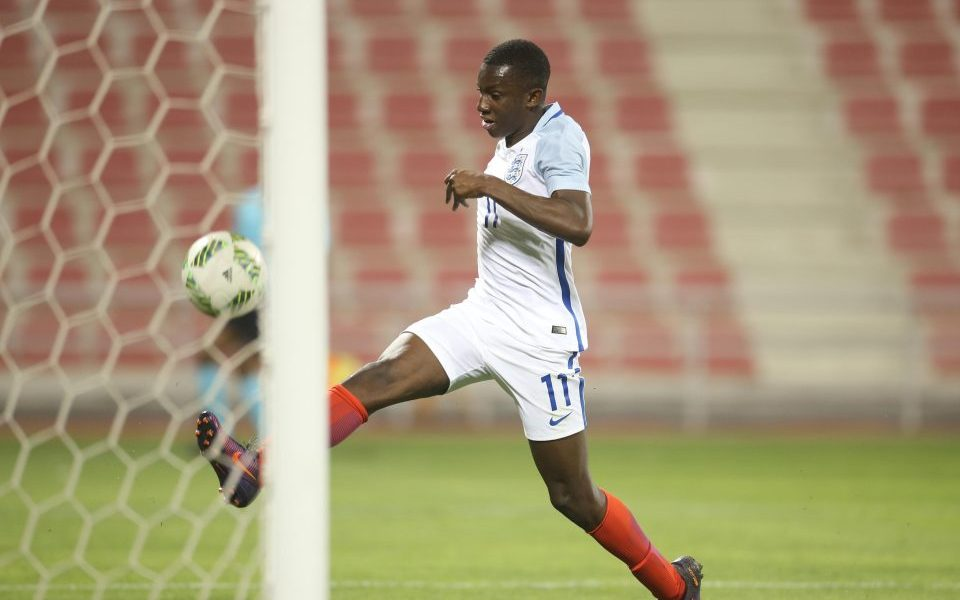 Ghanaian youngster Eddie Nketiah scores as England U-20 loses to Netherlands in friendly