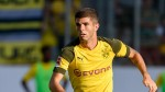 Borussia Dortmund's Christian Pulisic held out of match with calf injury