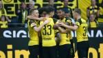 Paco Alcacer scores hat trick as Dortmund beat Augsburg in thriller