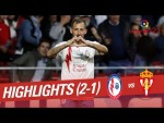 Resumen de CF Rayo vs Real Sporting (2-1)