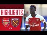 HIGHLIGHTS | Arsenal 2-1 West Ham United U-18s