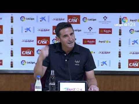 Rueda de prensa de Manolo Jiménez tras el UD Almería vs UD Las Palmas (3-0)