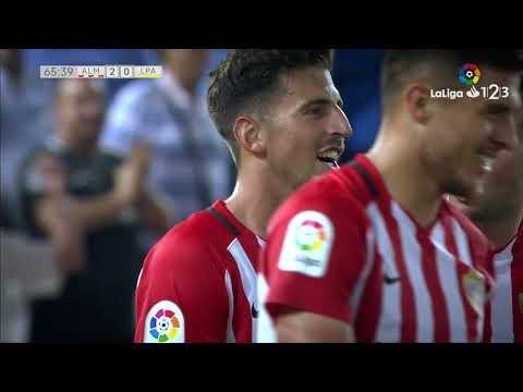 Golazo de Juan Carlos (2-0) UD Almería vs UD Las Palmas