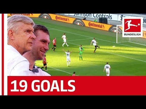 Merte's 96 Friends vs. Per's World XI | 9-10 | Highlights - Per Mertesacker Says Goodbye