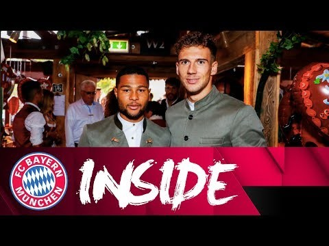 Mit Goretzka & Gnabry auf dem Oktoberfest | Inside FC Bayern