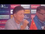 #AFCU19   Pre-match press conference: Group D