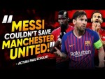 """""""Lionel Messi Couldn't Save This Manchester United Team""""   The Comments Show"""