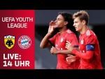 LIVE 🔴 | AEK Athen - FC Bayern | U19 UEFA Youth League