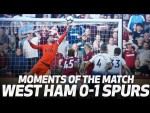 HUGO'S INCREDIBLE SAVE | MOMENTS OF THE MATCH | West Ham 0-1 Spurs