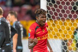 Ghanaian player Godsway Donyoh on the radar of EPL side Burnley