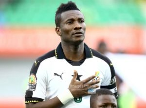 Asamoah Gyan wants to win AFCON before he retires