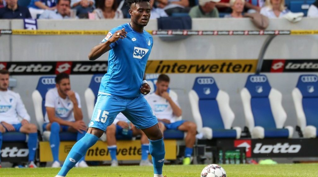 Ghana defender Kasim Nuhu set to return for TSG Hoffenheim ahead of FC Nuremberg clash