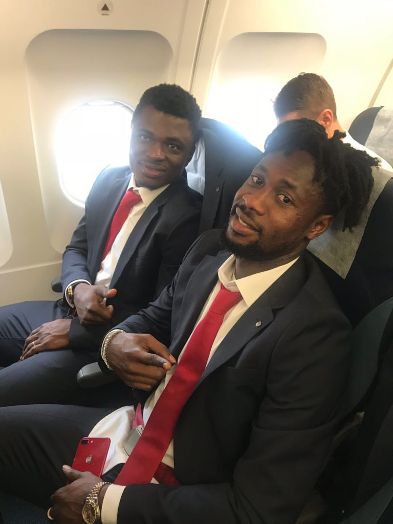 Boakye Yiadom and Rashid Sumaila included in Red Star Belgrade UCL squad ahead of Liverpool clash