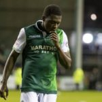 Injured Thomas Agyepong  to miss  Hibernian's double-header against Celtic
