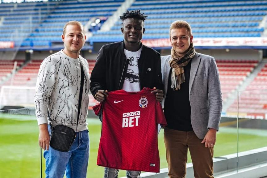 Dreams FC midfielder Bashiru Alhassan joins Sparta Prague