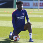 Thomas Partey named Atletico Madrid's squad for CL clash against Dortmund