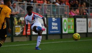 Ghanaian youngster David Boateng on the radar of Arsenal