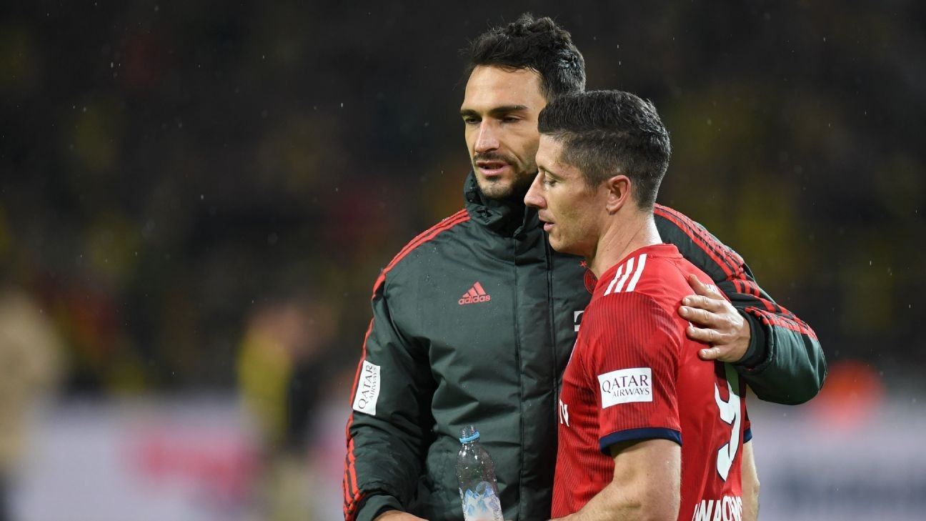 Robert Lewandowski shines, Mats Hummels suffers as Bayern stumble against Dortmund