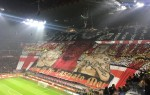 AC Milan unveil stunning choreography ahead of Juventus clash