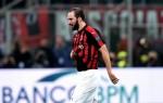 AC Milan striker hit with two game ban