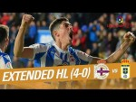RC Deportivo vs Real Oviedo (4-0) - Extended Highlights