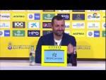 Rueda de prensa de Diego Martínez tras el UD Las Palmas vs Granada CF (2-2)