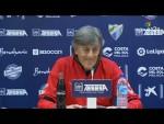 Rueda de prensa de Enrique Martín tras el Málaga CF vs Nàstic (2-0)