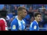 Resumen de Málaga CF vs Nàstic (2-0)