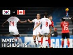 Korea Republic v Canada  - FIFA U-17 Women's World Cup 2018™ - Group D