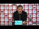 Rueda de prensa de Ramis tras el Albacete BP vs CD Lugo (1-0)