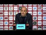 Rueda de prensa de Alberto Jiménez Monteagudo tras el Albacete BP vs CD Lugo (1-0)