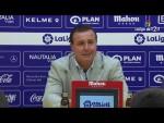 Rueda de prensa de Cristobal Parralo tras el AD Alcorcón vs Elche CF (1-0)
