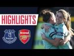 GOALS & HIGHLIGHTS | Everton 0 - 4 Arsenal Women