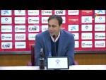 Rueda de prensa de Fran Fernandez tras el UD Almería vs RC Deportivo (1-1)