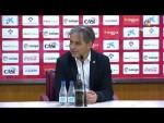 Rueda de prensa de Natxo González tras el UD Almería vs RC Deportivo (1-1)