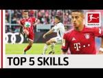 Thiago Alcantara - Top 5 Skills