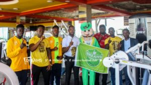 Official: Ghanaian top-flight side Dreams FC sign partnership with Golds Gym