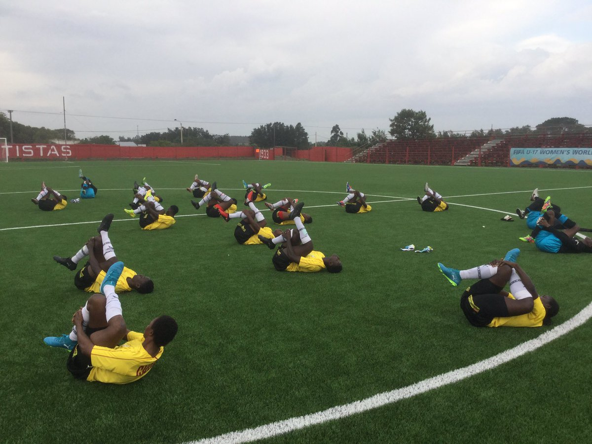 Video: Black Maidens intensify training ahead of Mexico quarter final clash