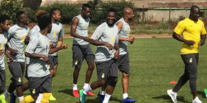 Black Stars arrive in Addis Ababa Ahead of AFCON Qualifier with Ethiopia