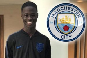 Man City signs 14-year-old Ghanaian youngster Darko Gyabi from Millwall