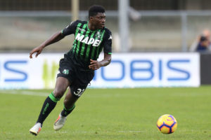 US sassuolo price €20 million for Alfred Duncan